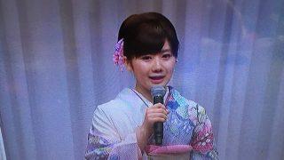 福原愛ちゃんの結婚報告記者会見はステキな振袖でした。