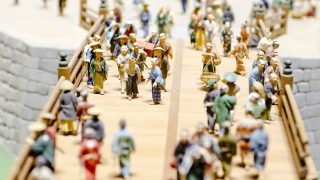 文様の歴史 これが江戸時代に初めて現れました。